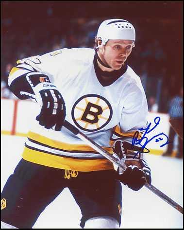 Used Hockey Skates >> Butch Goring autographed 8x10 Photo (Boston Bruins)